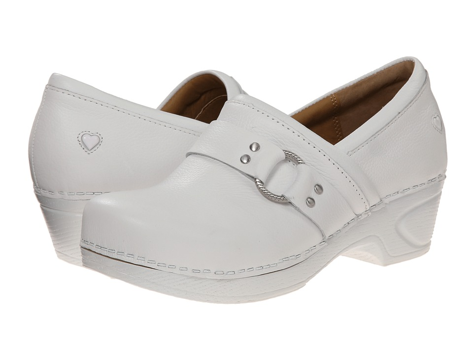 Nurse Mates - Dakota (White) Women's Clog Shoes