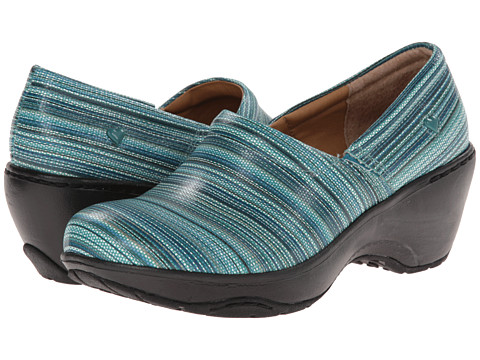 Nurse Mates - Bryar (Aqua Serape) Women's Clog Shoes