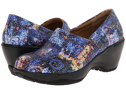Nurse Mates - Bryar (Blue Splash) Women's Clog Shoes