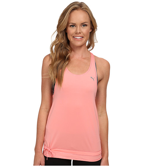 PUMA - WT Bubble Tank Top (Salmon Rose) Women's Sleeveless