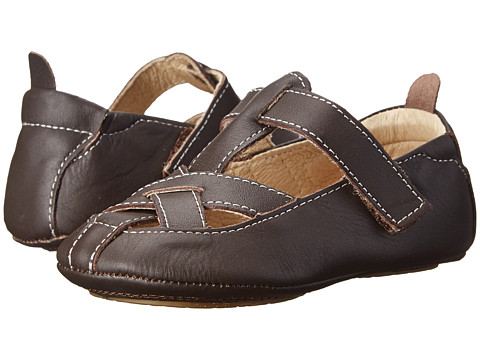 Old Soles - Criss Cross (Infant/Toddler) (Brown) Girl