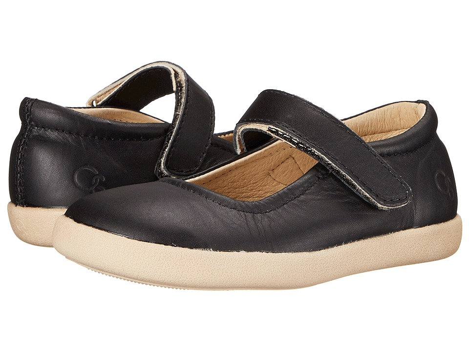 Old Soles - Miss Jane (Toddler/Little Kid) (Black) Girl's Shoes