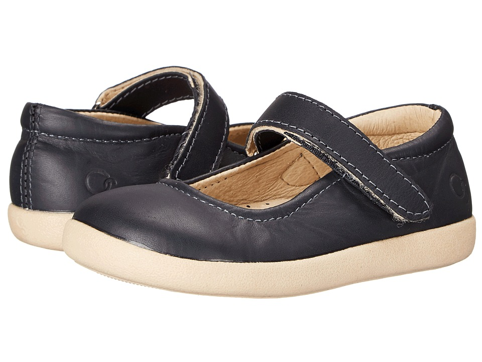 Old Soles - Miss Jane (Toddler/Little Kid) (Navy) Girl's Shoes