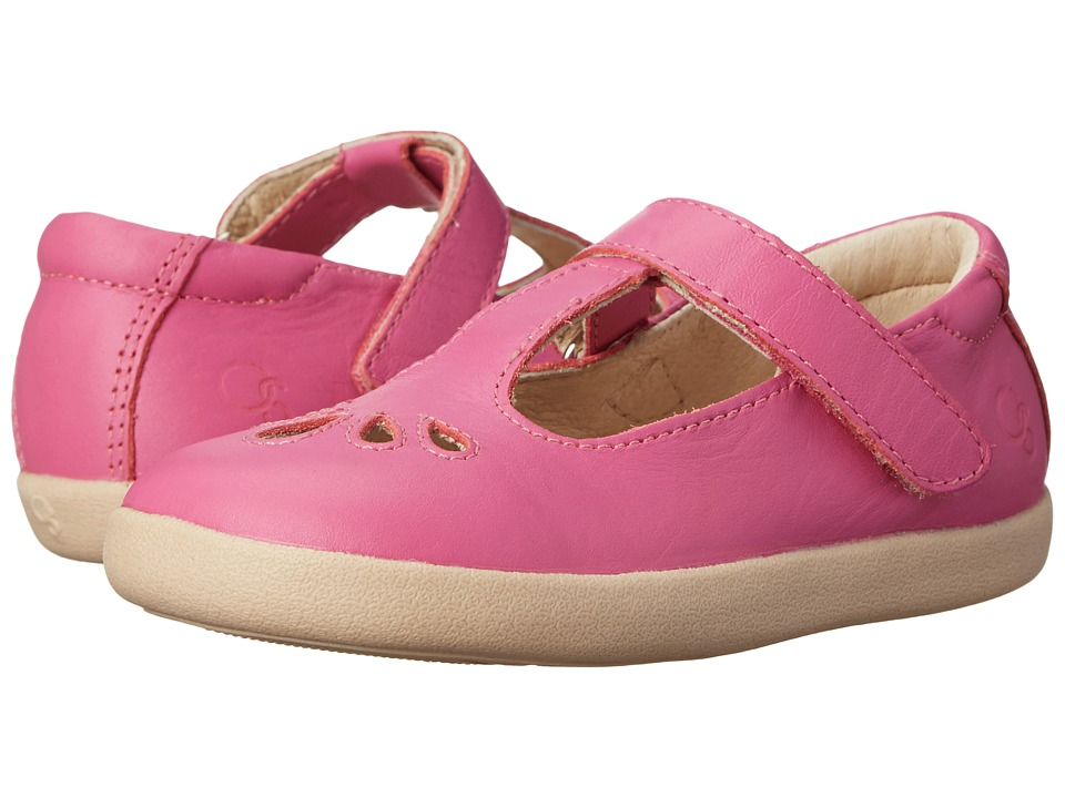 Old Soles - Petals (Toddler/Little Kid) (Fuchsia) Girl's Shoes