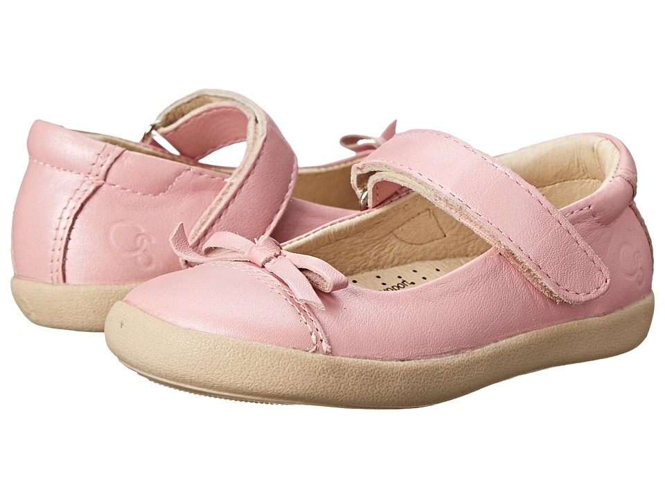 Old Soles - Sista Flat (Toddler/Little Kid) (Pearlised Pink) Girl's Shoes