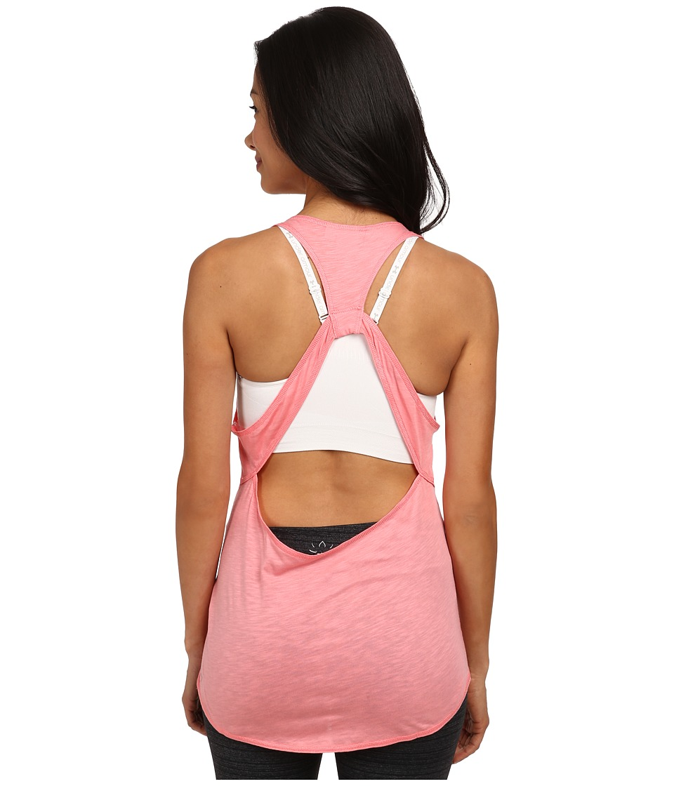 PUMA - ST Watchmeleave Lyrtank Slub (Salmon Rose) Women's Sleeveless