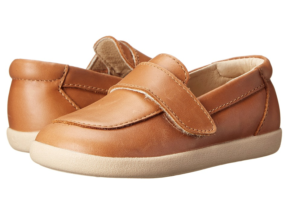 Old Soles - Business Loafer (Toddler/Little Kid) (Tan) Boy's Shoes