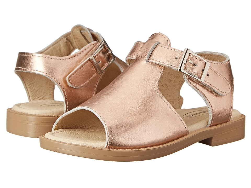 Old Soles - Travel Sandal (Toddler/Little Kid) (Copper) Girl's Shoes