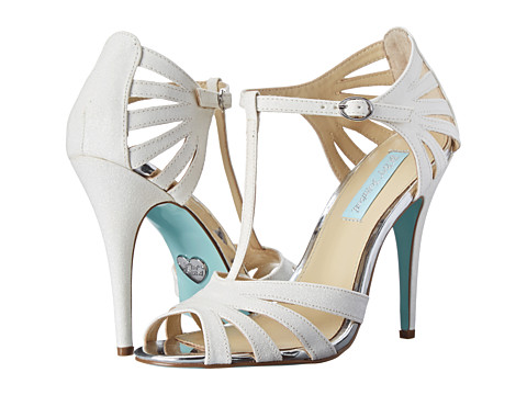 Blue by Betsey Johnson - Tee (Ivory Fabric) High Heels