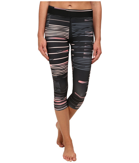 PUMA - WT All Eyes On Me 3/4 Tight (Black/Turbulence/Salmon Rose) Women