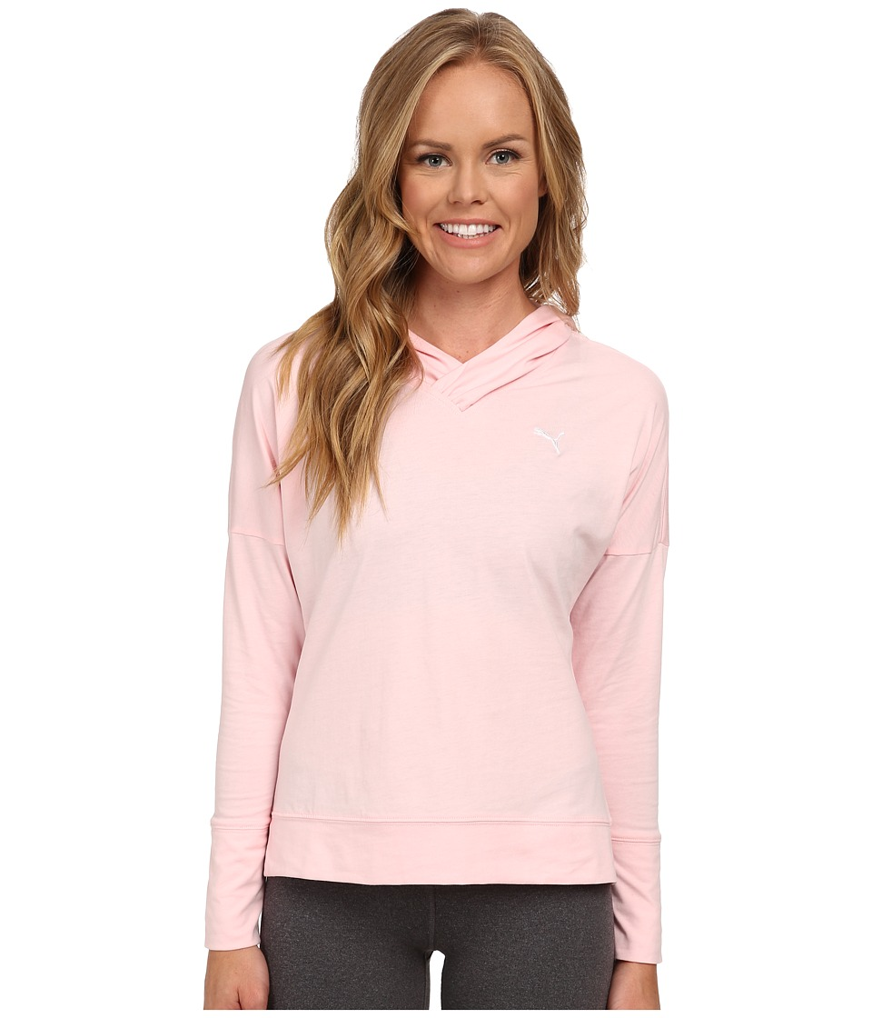 PUMA - Lightweight Pullover Top (Crystal Rose) Women's Long Sleeve Pullover