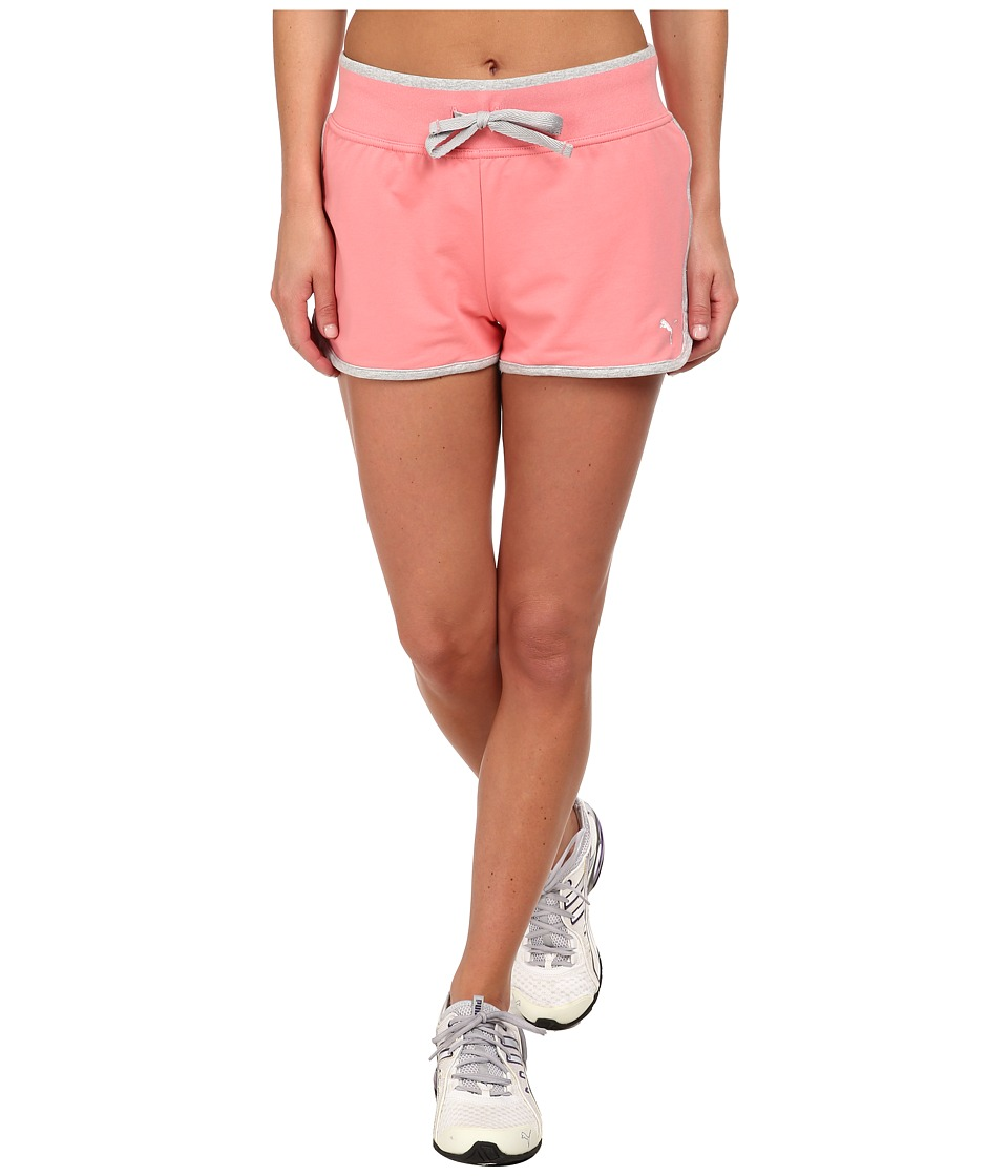 PUMA - Sweat Short (Salmon Rose) Women's Shorts