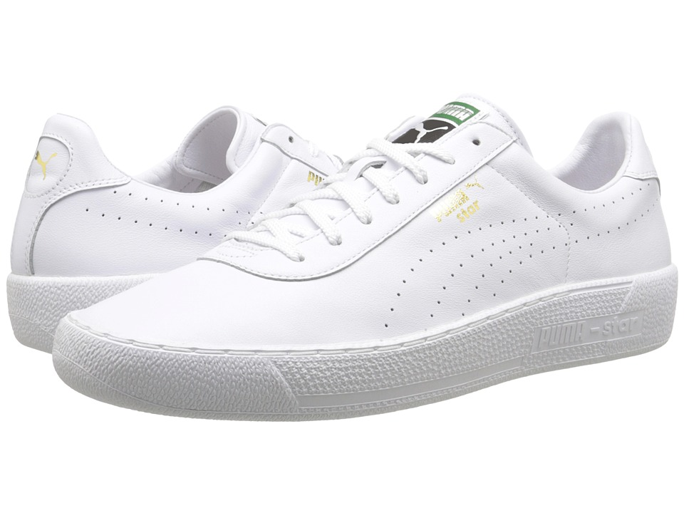 PUMA - Star (White/White) Classic Shoes
