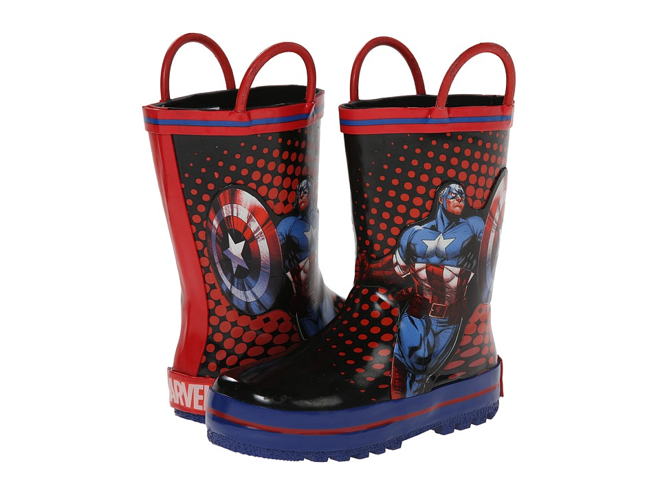 Favorite Characters - Avengers 1AVS501 Rainboot (Toddler/Little Kid) (Red/Blue) Boys Shoes