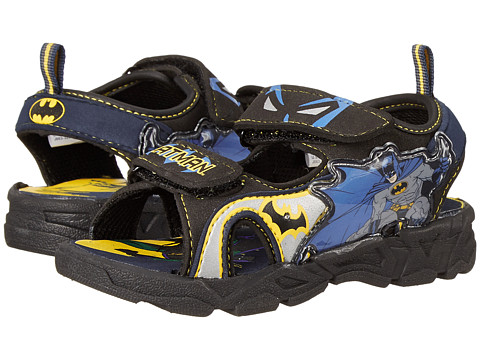Favorite Characters - Batman 1BMS603 Lighted Sandal (Toddler/Little Kid) (Blue) Boys Shoes