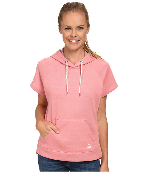 PUMA - Coastal Summer Sweat (Salmon Rose) Women