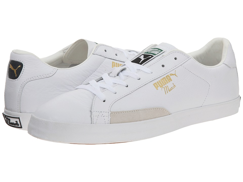 PUMA - Match Vulc (White/Turbulence) Athletic Shoes
