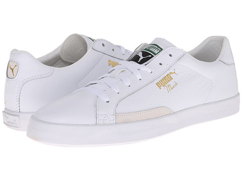 PUMA - Match Vulc (White) Athletic Shoes