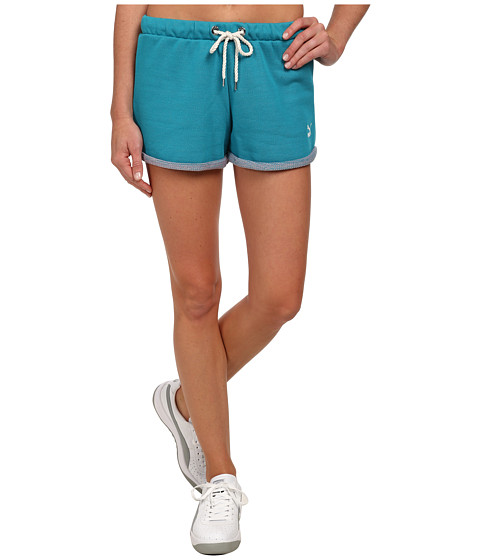 PUMA - Coastal Short (Capri Breeze) Women