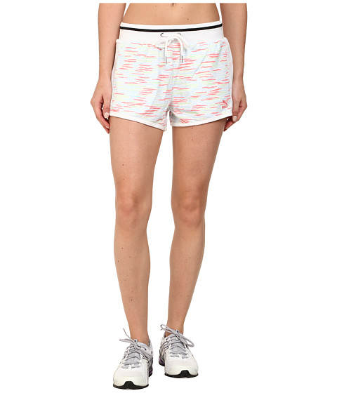PUMA - Printed Short (Salmon Rose/Patina Green/Omphalodes) Women