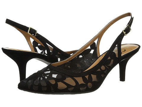 J. Renee - Genie (Black Suede) Women's Shoes