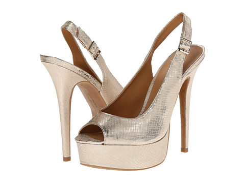 Chinese Laundry - Abba (Light Gold Snake) High Heels