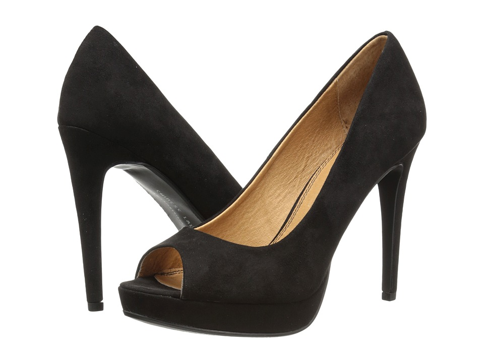 Chinese Laundry - Hypnotize (Black Micro Suede) High Heels