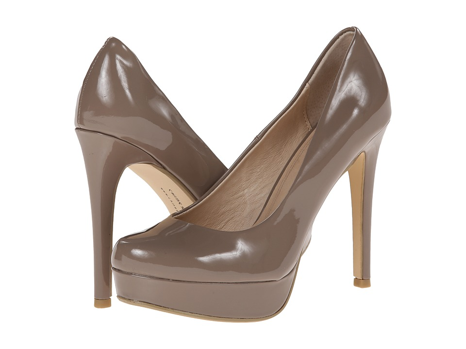 Chinese Laundry - Wow Platform Pump (Taupe Patent) High Heels
