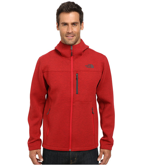 The North Face - Haldee Hoodie (TNF Red Heather) Men