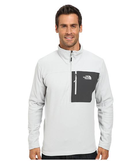 The North Face - Tech 100 1/2 Zip (High Rise Grey/Asphalt Grey) Men