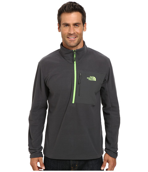 The North Face - Tech 100 1/2 Zip (Asphalt Grey/Asphalt Grey) Men