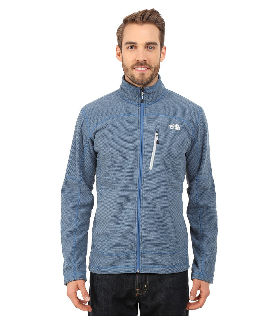The North Face - Texture Cap Rock (Dish Blue) Men's Coat