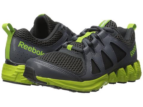 Reebok Kids - ZigKick 2K15 (Big Kid) (Gravel/Graphite/Ultra Lime/White) Boys Shoes