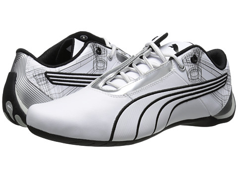 PUMA - Future Cat S1 Atomisity (White/White) Men's Shoes
