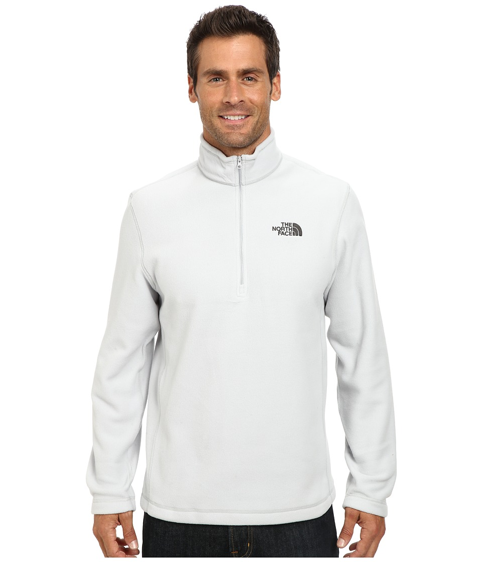 The North Face - TKA 100 Glacier 1/4 Zip (High Rise Grey) Men's Sweatshirt