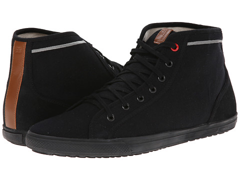 Ben Sherman - Chase Hi (Black) Men's Lace up casual Shoes