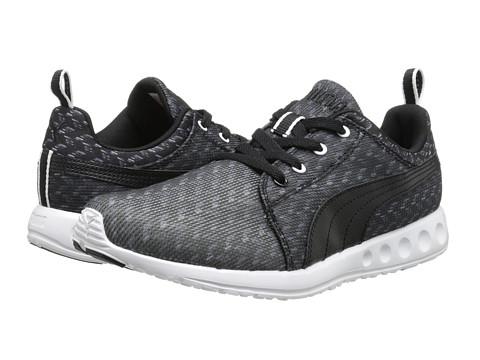 PUMA - Carson Runner Glitch (Black/White) Women's Shoes