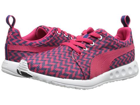 PUMA - Carson Runner Glitch (Virtual Pink/Black/Blueprint) Women's Shoes