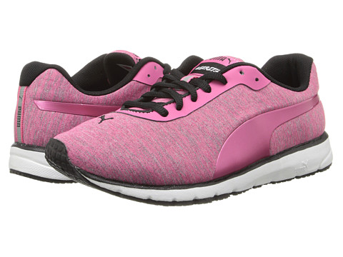 PUMA - Narita v3 Heathered (Fluo Pink/Fluo Pink/Fluo Pink) Women's Shoes