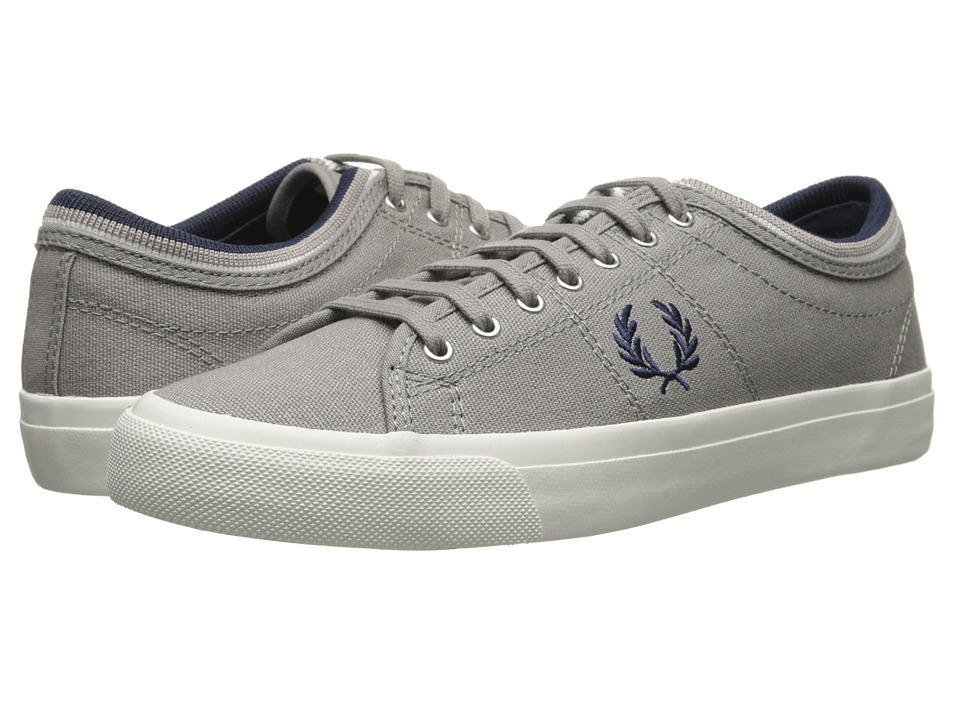Fred Perry - Kendrick Tipped Cuff Canvas (Cloudburst) Men's Lace up casual Shoes