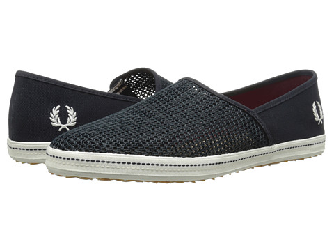Fred Perry - Kingston Stampdown Mesh (Navy) Men's Shoes