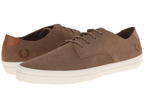 Fred Perry - Savitt Suede (Driftwood) Men's Shoes