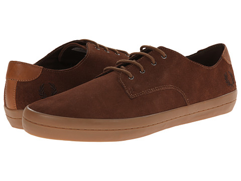 Fred Perry - Savitt Suede (Havana Brown) Men's Shoes