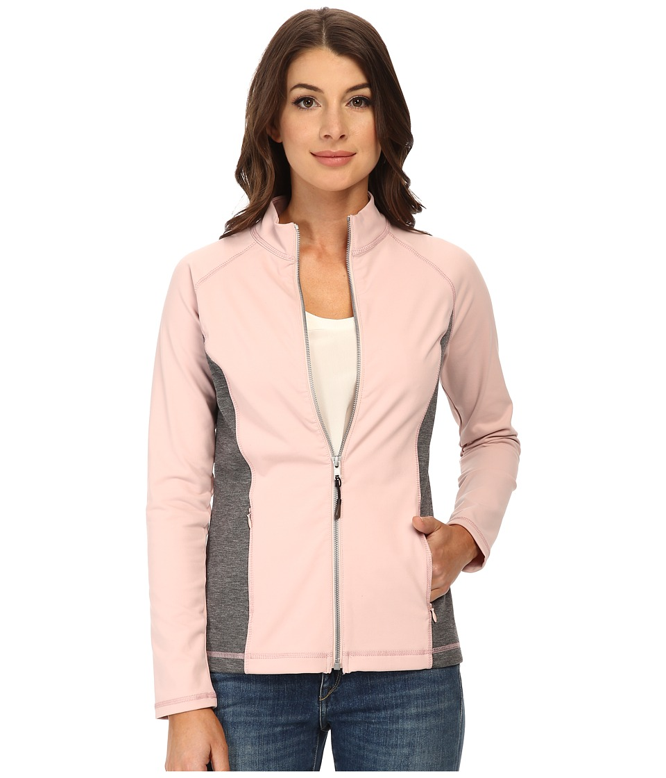 NYDJ - City/Sport Zip Trainer Jacket (Lotus w/ Heather Grey) Women