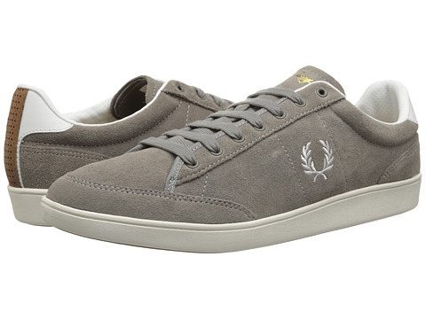 Fred Perry - Hopman Suede (Cloudburst) Men's Lace up casual Shoes