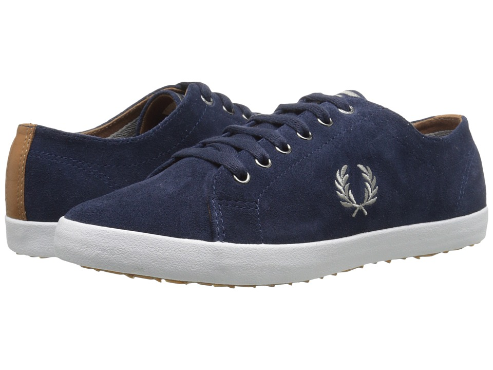 Fred Perry - Kingston Suede (Carbon Blue) Men's Lace up casual Shoes
