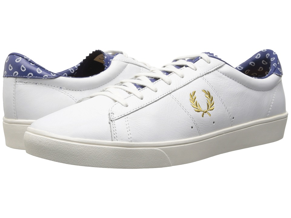 Fred Perry - Spencer Leather Drakes (White) Men's Shoes