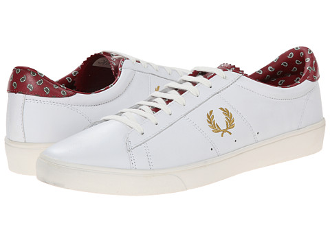 Fred Perry - Spencer Leather Drakes (White 1) Men's Shoes