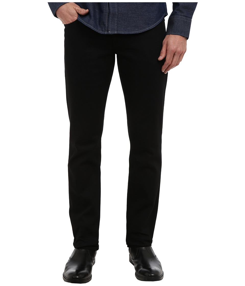 Hudson - Blake Slim Straight in Raw Black (Raw Black) Men