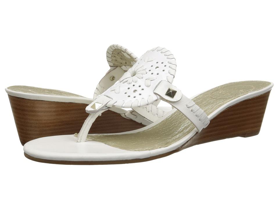 Jack Rogers - Devyn (White) Women's Shoes